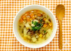 繊維たっぷり野菜スープ