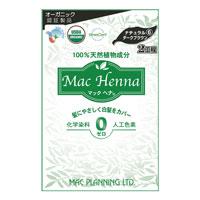 マックヘナ ナチュラルダークブラウン‐6 ヘナ60g+インディゴ60g