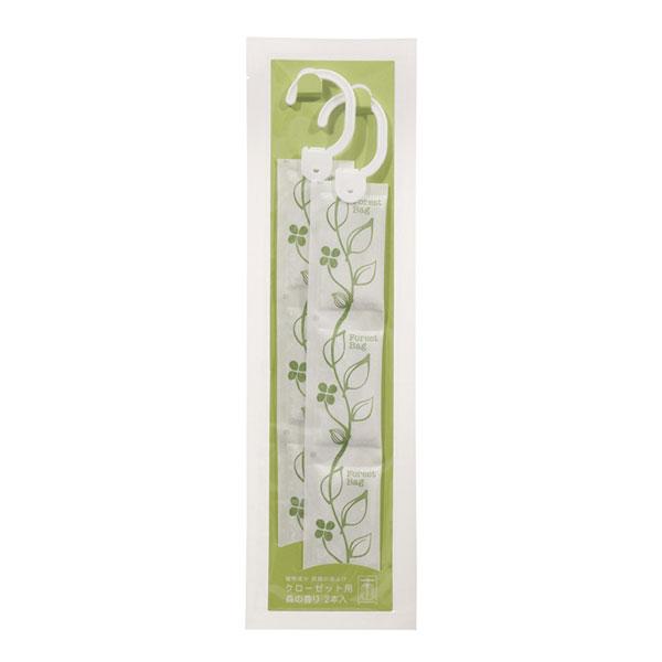 タジマヤ 植物成分防虫剤 クローゼット用 森の香り 2本入(9g×2本)