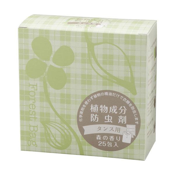 タジマヤ 植物成分防虫剤 タンス用 森の香り 25包入(3g×25包)