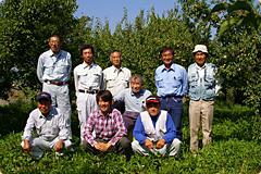 写真:かつらぎ町有機栽培実践グループ
