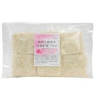 【冷凍】プレマシャンティ 穀物と野菜の白身魚風フライ 6個入