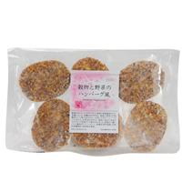 【冷凍】プレマシャンティ 穀物と野菜のハンバーグ風 6個入