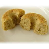 【冷凍】プレマシャンティ 米粉のひとくちドーナッツ〜プレーン〜 6個入
