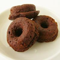 【冷凍】プレマシャンティ 米粉のひとくちドーナッツ〜チョコレート〜 6個入