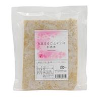 【冷凍品】プレマシャンティ 大豆まるごとテンペ お得サイズ1枚/約230g