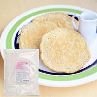 プレマシャンティ 国産有機小麦のパンケーキミックス〜焙煎小麦ふすま入〜  400g