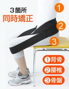 商品の特徴 腰の負担を軽減。   骨盤を立てるので自然と姿勢を補正。   腹筋や背筋も気持ちよくトレーニング   電気を使わない、天然ゴムの力だけで腰サポート。   仕事をしながら、テレビを見ながら座るだけ。   体幹をトレーニングすることで足腰の負担が軽くなり、ウォーキング、ジョギングもしやすくなる。   座位装着時の腰負担が1/9に軽減されるのに筋活動は倍になる。
