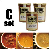 Smallest Soup Factory Michel's Classic スープギフト セットC 3本セット (各400ml/希釈後3〜4人前)