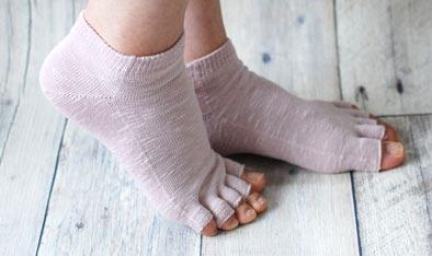 杉山ニットの靴下