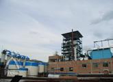 竹布:アルカリ剤のリサイクル施設