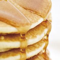 そば粉と全粒小麦のパンケーキ <ピーナツオイル風味>