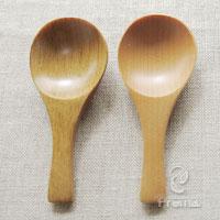 【tomato畑】調味料スプーン(2本セット/キナリ)