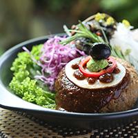 高野豆腐のハンバーグ 主菜
