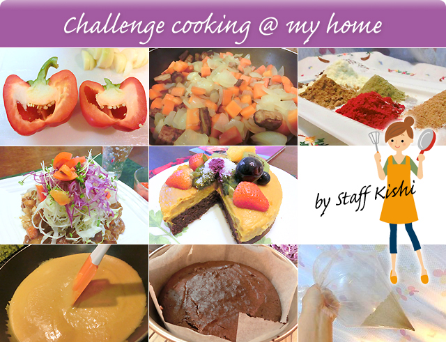 Challenge cooking @ my home