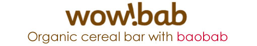wow!bab Organic cereal bar with baobab