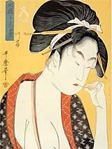 江戸時代の人々もこまめにようじで歯をきれいに!