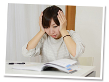 勉強や仕事の椅子は大丈夫でしょうか?